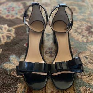 Pour la Victoire Heels with Bow Detail